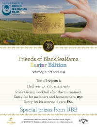 FRIENDS OF BLACKSEARAMA EASTER EDITION ON SATURDAY 19TH APRIL