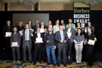 "BlackSeaRama Golf & Villas with First Prize ""Quality of Service"" at Forbes Business Awards 2013"