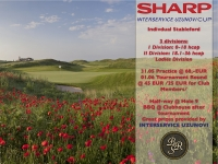 JOIN THE 4TH ISU CUP FOR GREAT GOLF AND AMAZING PRIZES FROM SHARP!