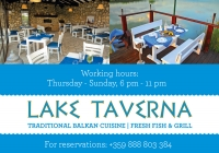 Lake Taverna increasing operating days. Welcome on Sundays