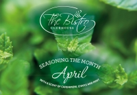 Culinary moments: April with a scent of cardamom, chives & mint