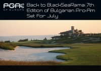 Back to BlackSeaRama: 7th Edition of Bulgarian Pro-Am Set For July
