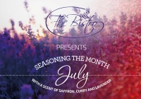 Culinary moments: July with a scent of saffron, curry and lavender