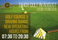 Course News: Extended operating hours