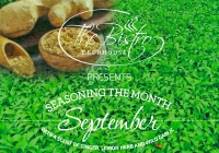 Culinary moments: September with a scent of ginger, lemon herb and wild garlic