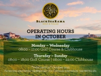 Operating hours until the end of October