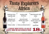 Taste Explorers in May: Discover Tempting Africa