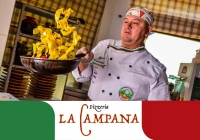 Pizzeria La Campana is opening for the new season
