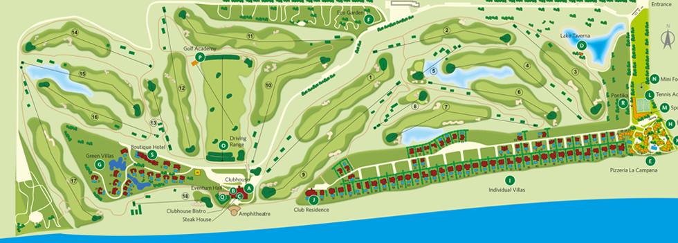 BlackSeaRama Golf & Villas Resort, Black Sea Coast in Bulgaria on